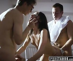 PURE TABOO Doctors Fuck Psych Paitent After Shes Caught..