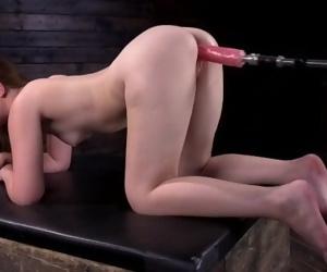 Machine Fucking the 18 Year old Newcomer: Danni Rivers