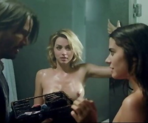 Ana de Armas, Lorenza Izzo - Seducing a older man,..