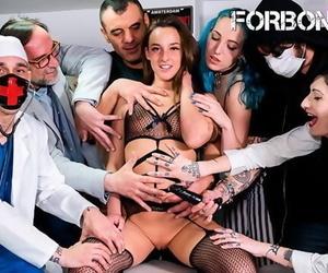 CrowdBondage - Amirah Adara Tied up Hungarian Slut BDSM..