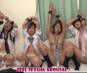 Japanese Schoolgirls who Feel Suddenly Sexual Arousal by..