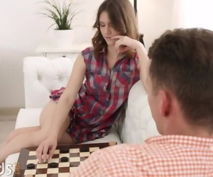 Sofy Torn Loses a very Important Match... in Strip Checkers