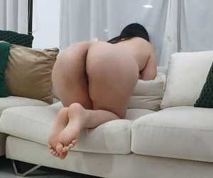 Annie Teen Gets her Big Ass Fucked and Gaped