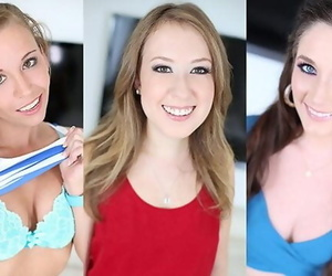 BROOKE BLISS, BELLA SKYE & NORAH NOVA AUDITION WITH a COCK