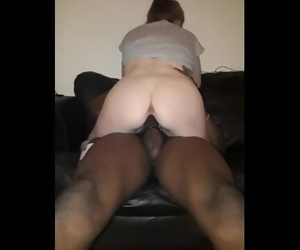 Teen sub Sucks BBC Hard then Gets Pink Pussy Stretched and..