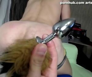 Male Spanked a Guy - ARTEM SUCHKOV