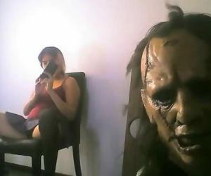 Dirty Hollowen Lether Face Bondage School Girl Live Webcam..