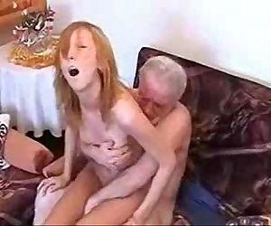 grandpa fuck a hottie - 2 min