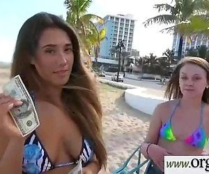 Hot Girl Paid To Bang Hard Style On Camera video-14