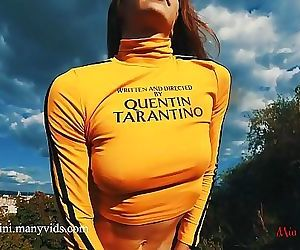 PUBLIC BLOWJOB AND CUMSHOT ON MOUTH WITH PETITE MIA BANDINI 10 min HD+