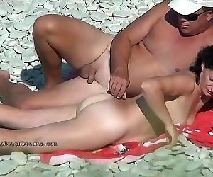 Special videos from real nudist beaches 15 min HD+