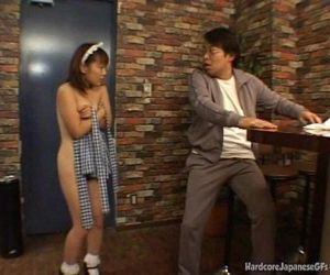 Japanese Bar Maid Gets Fucked And Cumloaded - 5 min