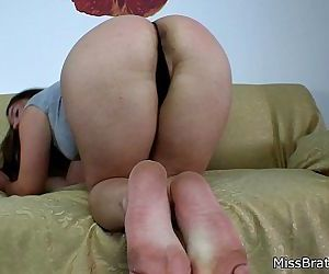BP103-Feet & Ass Worship POV-Big Ass- Preview HD