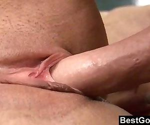 Cute Brunette Babe Fucks Her StepbrotherHD