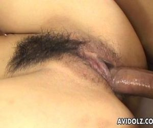 Asian busty cock fucker getting her pussy in convulsion - 8 min
