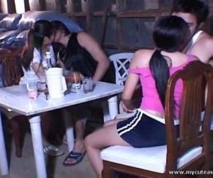 Asian teens fucked outdoor - 6 min