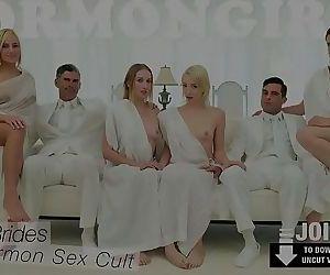 MormonGirlz- Passionate lesbian group sexHD