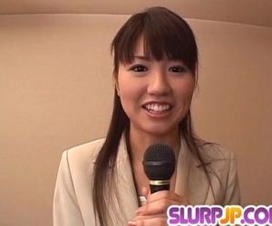 Misato Kuninaka gets tasty dick to choke her well - 10 min