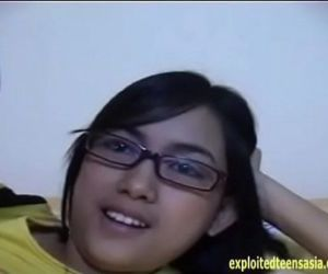 Exclusive Scene Janet Filipino Amateur Teen Babe Massive Tits Glasses - 6 min
