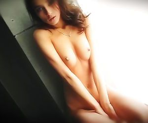 Layna AKA Sasha P - Behind The Scenes Photoshoot - PornOverDub
