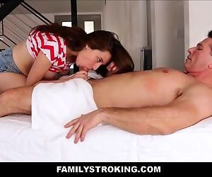 Step Daughter Seduces Her Dad During Massage