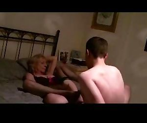 British mature hotwife fucked by young stud