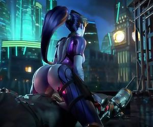 Overwatch Babe Plays a Game