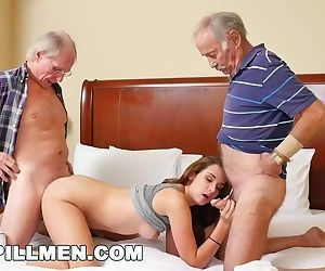 BLUEPILLMEN - Introducing Old Man Duke to Teen Naomi Alice