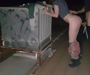 Australian Babe Fucking Around The Neighbourhood - itsRANDL