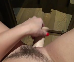 Fingering, Toy, & Squirt in hotel- Masturbation, Sex toy, et éjaculation