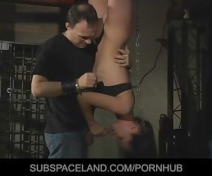 Innocent helpless slave gets..
