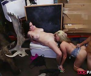 Lesbians Pawn Their Asses!