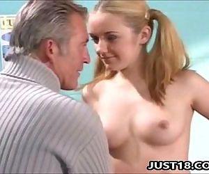 Blonde Teen Slut Pussy Exam