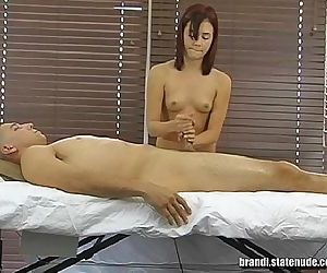 Naked Teen Girl Rub and TugBrandi..
