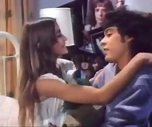 Petite Retro Teen Sucks Cock and..
