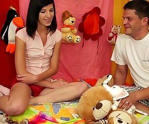TeenyPlayground Teen facial and..