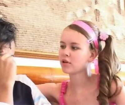 Marcela Rubita very young skinny..