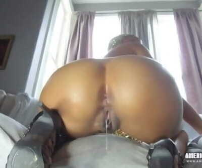 One Minute To Cum Black Creampie..