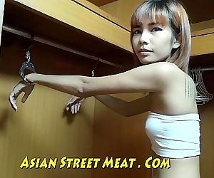 Slender Media Hairdo In Thailand Closet Ten min HD