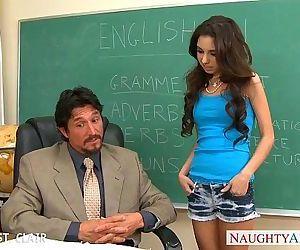 Slender schoolgirl Trinity St. Clair take cock - 8 min HD