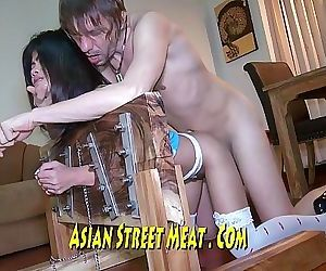 Thai Wench Slapped In Irons 12 min HD