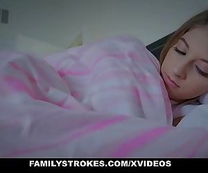 FamilyStrokesCuddling and Nailing Startled Stepdaughter While Wife Sleeps Ten min HD