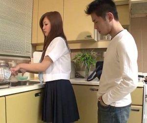 Delicious schoolgirl deep throats cock - 7 min HD