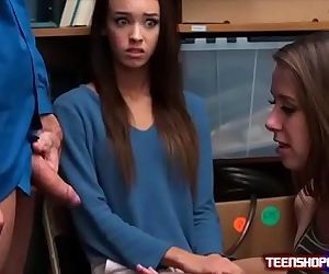Two slurps teens Charity Crawford and Zoey Laine are caught and set straight