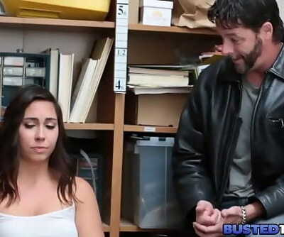 Teenager Shoplifter Fucked While Dad Watches 8 min 720p