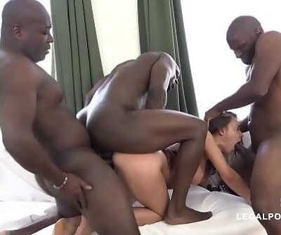 Bi-racial extraordinary orgy leaves Henessys pink hole destroyed after gangbang 10 min 1080p