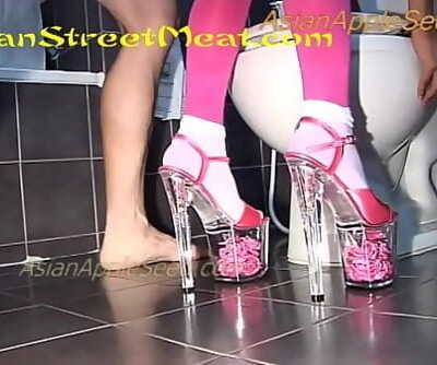 Pink Prone Restrain bondage Expert 13 min 720p