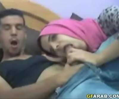 Arab Teen Deepthroats Thick Shaft 2 min