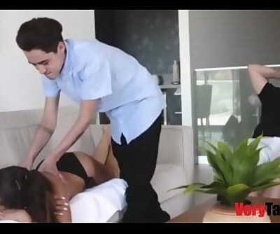 MOMs Vacation Vag- MOM SON 8 min 720p