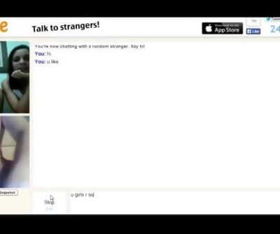 Trio girls teasing on Omegle